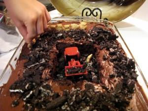 Mike Mulligan Cake